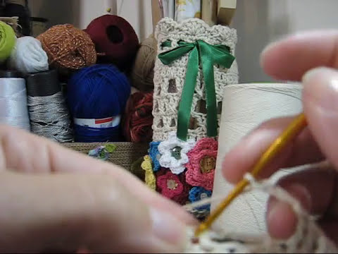Croche - Vasinho Endurecido (Modelo 3) - Parte 01/02
