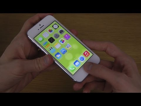 NEW iPhone 5S iOS 7.1.1 Touch ID - Speed Test