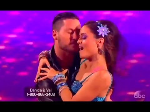 Dwts 18 Week 6 : Danica Mckellar And Val - Cha Cha i Wanna Dance With Somebody By Whitney Houston video