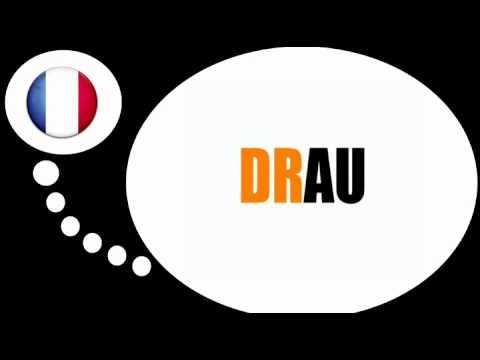 урок французского языка = Слоги с DR #