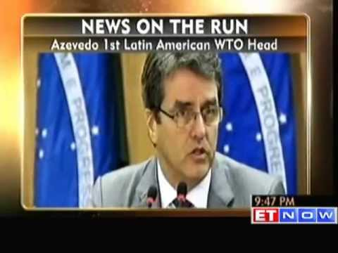 Brazilian Diplomat Elected as New World Trade Organization Chief