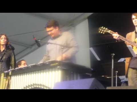 The Frost School of Music's Henry Mancini Institute Jazz Nonet at Jazz Fest 2013 05-03-2013 #1