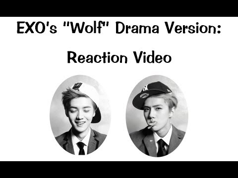 Exo 늑대와 미녀 (wolf) Drama Music Video (korean Ver.) Reaction Video video