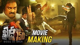 Khaidi No 150 Movie Making Video    Mega Star Chiranjeevi    Kajal Aggarwal    V V Vinayak