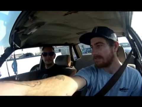 Mike Anderson Skaters In Cars Looking At Spots Van Wastell