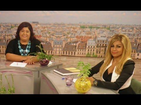 Noha Farran at Arab Woman Tv with Lilianne Abdo Nemri نهى فران