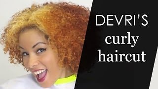 Devri's Curly Haircut ft. Dianne Nola from Nola Studio