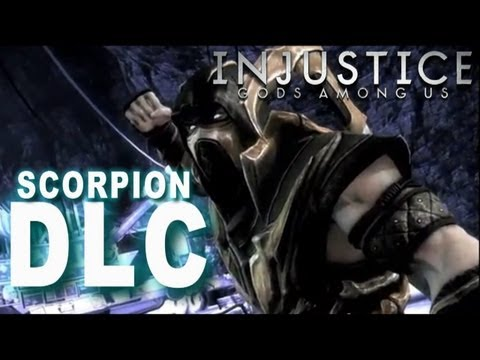 Injustice: Gods Among Us - Injustice DLC Scorpion!