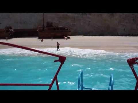 Zakynthos - A boat trip to Navagio beach shipwreck