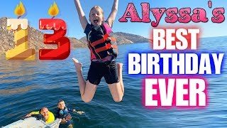 WE HAVE A TEENAGER!!!  Alyssa's 13th Birthday Special!