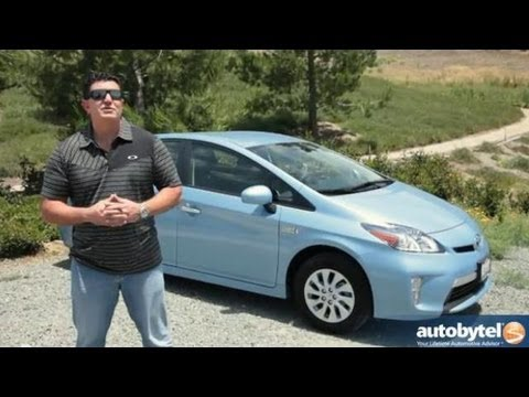 2013 Toyota Prius Plug-in Test Drive & Hybrid Car Video Review