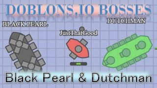 New Doblons.io BOSS   DUTCHMAN & Black Pearl   Doblons.io