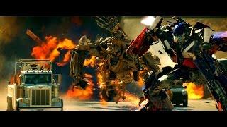 Transformers - Optimus Prime vs Bonecrusher (1080pHD VO)