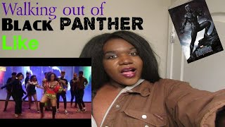 Walking out of Black Panther Movie Like REACTION
