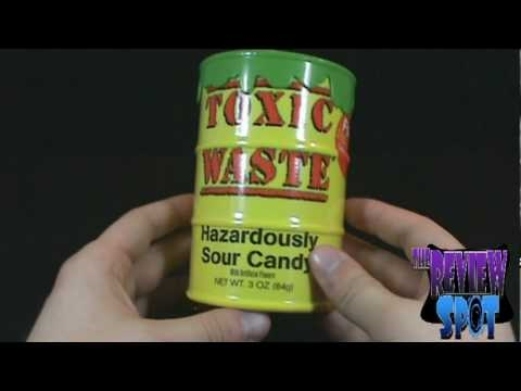 Random Spot  - Toxic Waste Hazardously Sour Candy