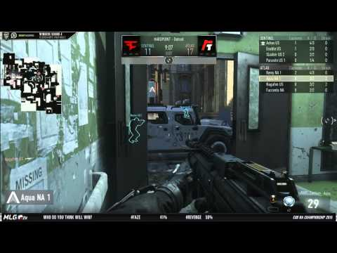 Faze Red vs Revenge - Game 1 - WR4 - North American Championships