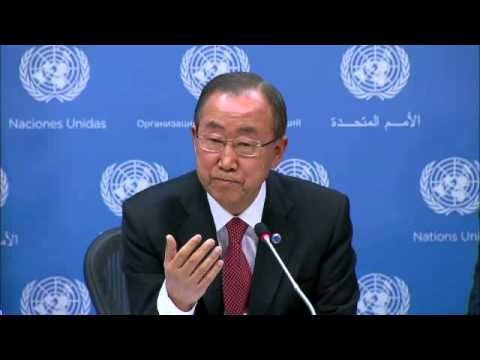 Ban Ki-moon on Ebola - Year-end Press Conference (17 December 2014)