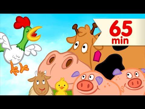 🐓  Good Morning Mr. Rooster + More   Kids Songs   Super Simple Songs