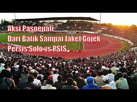 Manahan Penuh Sesak - Inilah Aksi Pasoepati di Laga Persis Solo vs PSIS Semarang