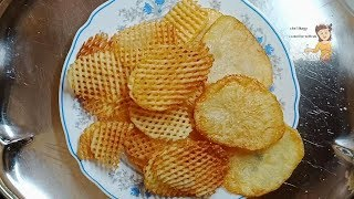 Homemade Salt and Vinegar Potato Chips / learn cooking