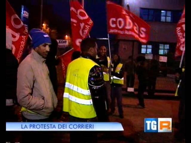Sciopero SDA di Carpiano TG Lombardia Edizione delle 19.30 31 ott. 2011