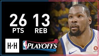 Kevin Durant Full Game 1 Highlights Pelicans vs Warriors 2018 NBA Playoffs - 26 Pts, 13 Reb!