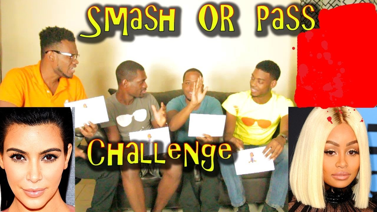 CELEBRITY SMASH OR PASS CHALLENGE ( KIM KARDASHIAN OR BLAC CHYNA?)