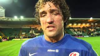 Full match reaction from Saracens players after Saints victory | Rugby Video Highlights