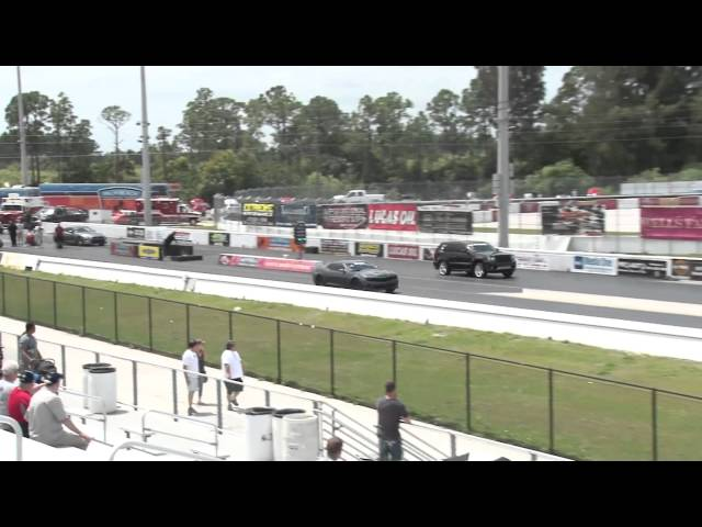 Turbo SRT Jeep runs 9.7 @ 141 MPH Drag Racing 1/4 Mile