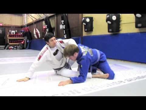 Richmond BJJ Academy - January 2013 - Technique of the Month - Loop Choke/Sweep from Butterfly Guard Image 1