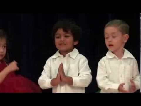 Christmas Carols by Pranav Kalyan and his friends at Christian Montessori school