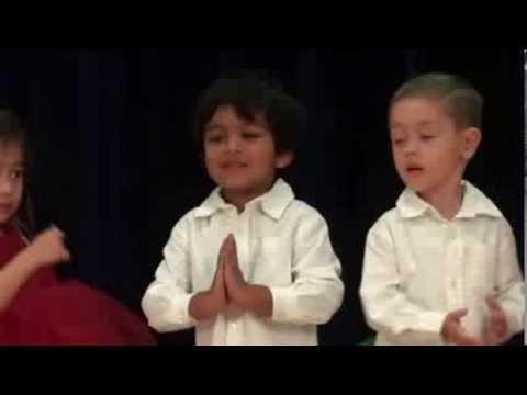 Christmas Carols by Pranav Kalyan and his friends at Christian Montessori school - 12/17/2013