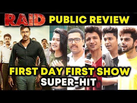 RAID PUBLIC REVIEW | FIRST DAY FIRST SHOW | Ajay Devgn, Saurabh Shukla, Ileana D'Cruz