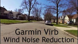 Garmin Virb Wind Noise Reduction