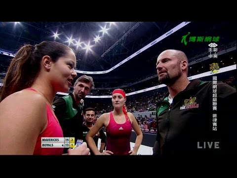 151206  IPTL  Women's Singles  Ana Ivanovic vs Serena Williams
