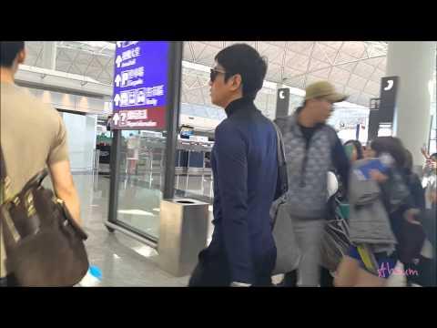141122 shinhwa eric in hongkong airport