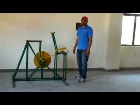 mechanical engineering final year project pedal powered hacksaw