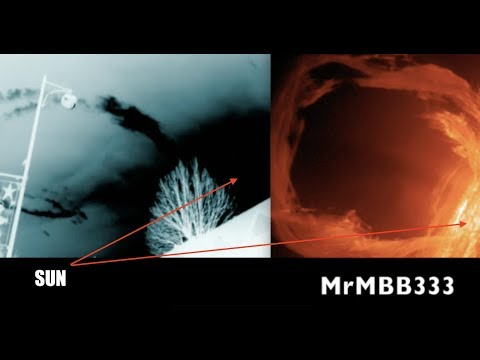 Man records what look like MAGNETIC LOOPS from the Sun - Mothership