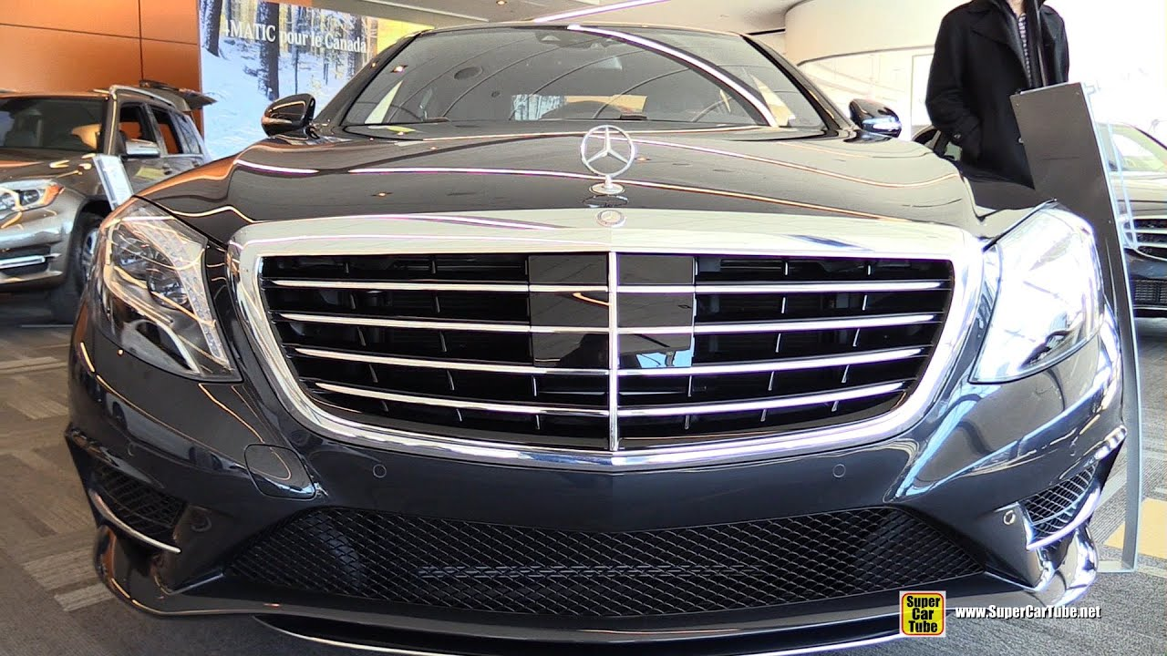 2015 Mercedes Benz S Class S 400 Sedan - Exterior and ...