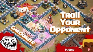 How to Bait Your Opponent | TH13 SCWL Bases | J' Off | Clash of Clans