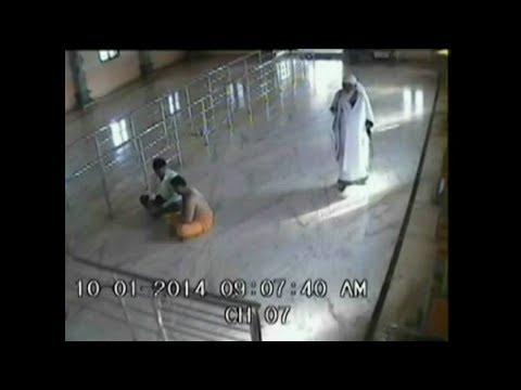 Miracle Caught On Cctv- Shirdi Sai Baba Appears In Human Form video