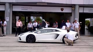 Lamborghini Aventador LP700-4 @Sepang