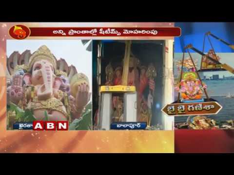All Set For khairatabad Ganesh Shobha Yatra | High Security Arrangements For Ganesh Immersion