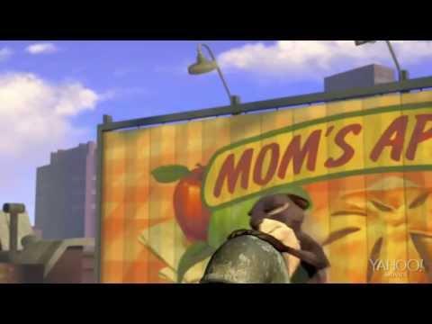 Трейлер для мультфильма Белка - Nut job. HD