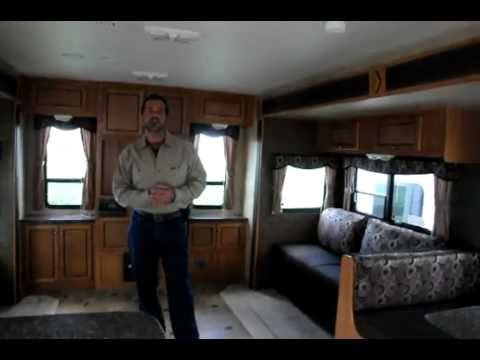 2012 Holiday Rambler Traveler 32RLS Travel Trailer-2 slides!