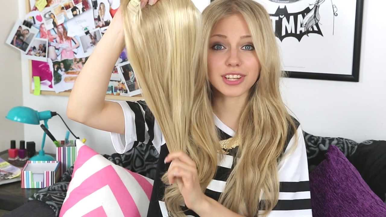 Dirty Looks Hair Extensions Malibu Blonde 117