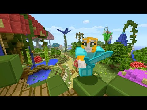 Minecraft Xbox - Enchanted Kingdom - Hunger Games video