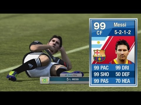 FIFA 12 - 99 MESSI REVIEW 'FAMILY DESTROYER HAHA!' | How ...