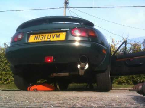 Mk1 Mazda MX5 Top Speed Pro Exhaust