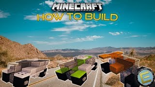 How to Build Futuristic Cars in Minecraft (#1)